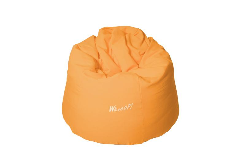 günstiger qualitativer Sitzsack in der Farbe Aprikose