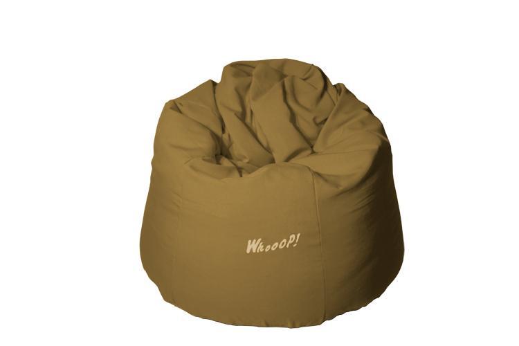 günstiger qualitativer Sitzsack in der Farbe braun