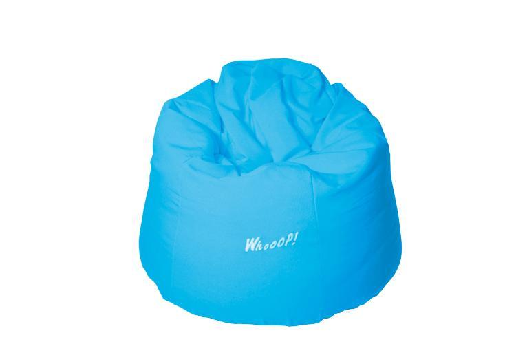 günstiger qualitativer Sitzsack in der Farbe Himmelblau