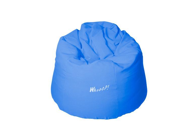 günstiger qualitativer Sitzsack in der Farbe Meeresblau