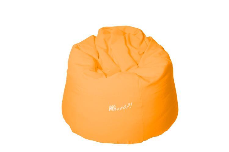 günstiger qualitativer Sitzsack in der Farbe Orange