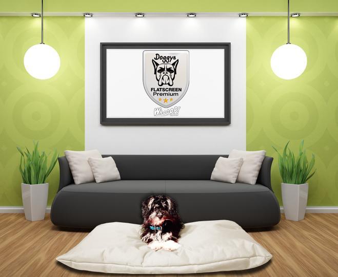 Qualitäts Hundekissen in der Farbe Beige