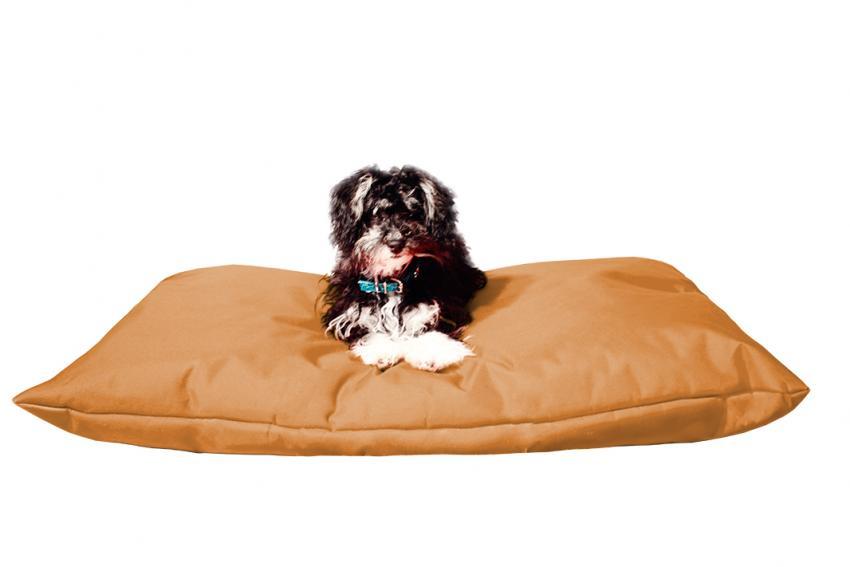 Hundebett mit Hundekissen in der Farbe Braun