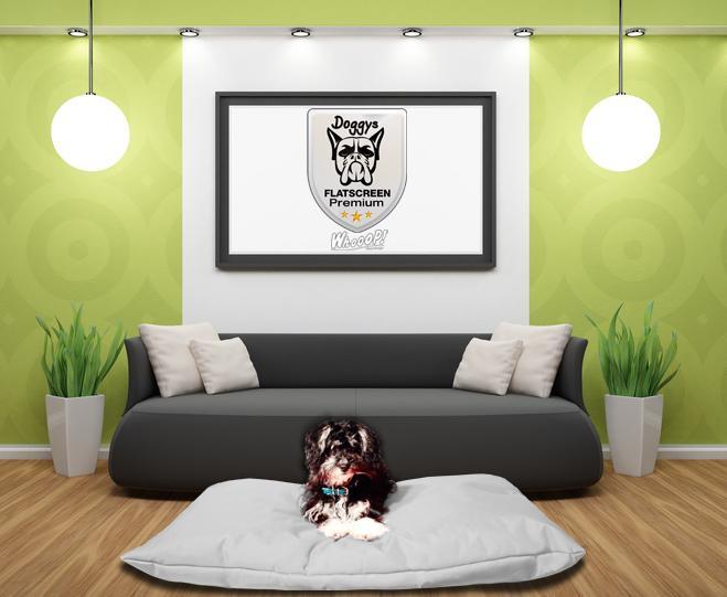 Hundekissen Premium Grau