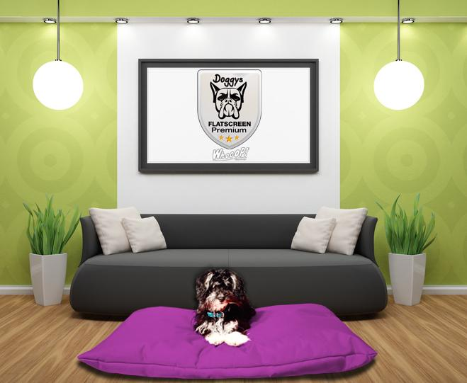 Hundekissen Premium Lila