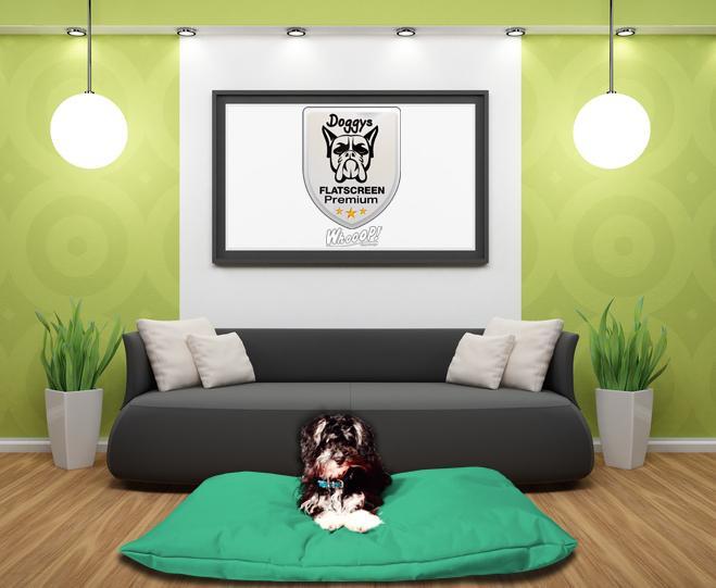 Hundekissen Premium Minz Grün