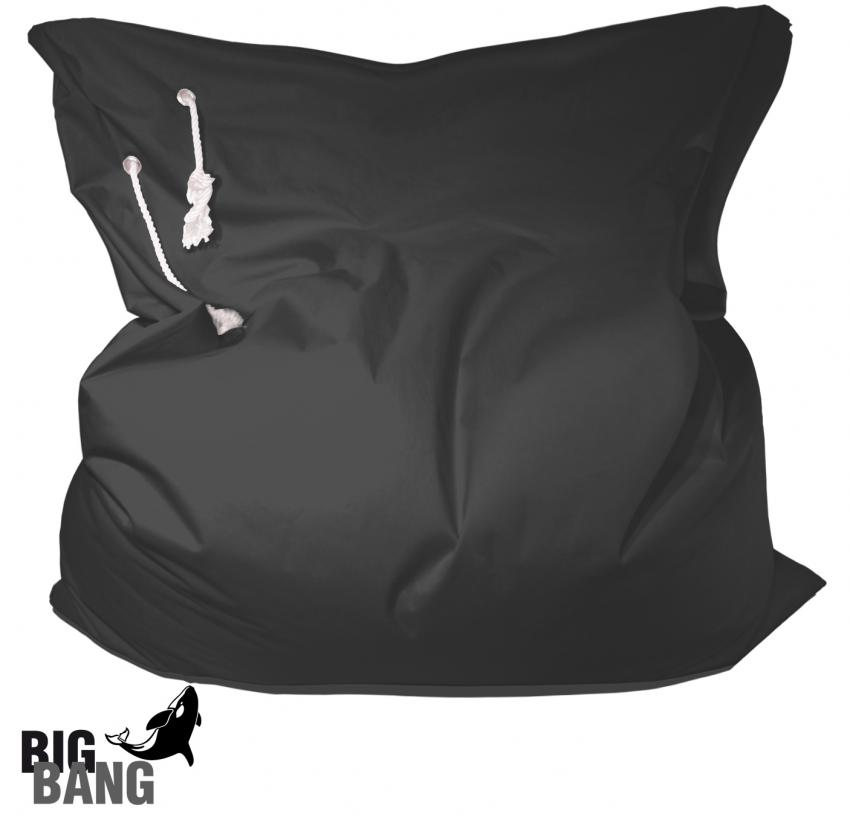 Outdoor Sitzsack Big Bang in Schwarz