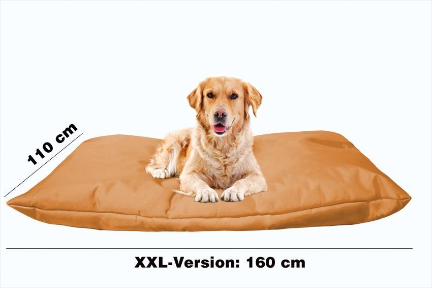 Hundekissen in der Farbe Braun XXL