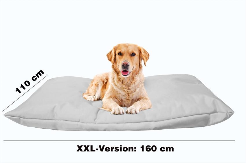 Hundekissen in der Farbe Grau XXL