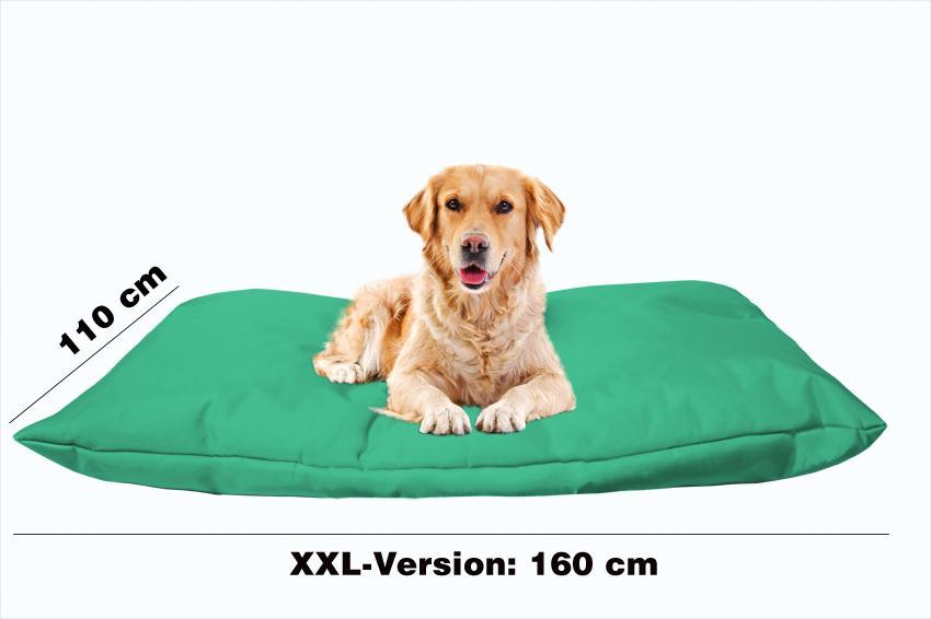 Hundekissen in der Farbe Minz-grün XXL