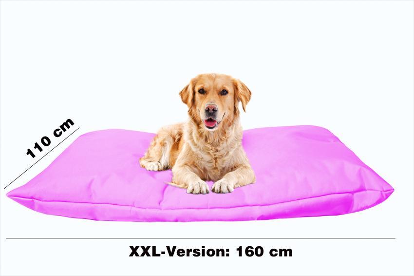 Hundekissen in der Farbe Pink XXL