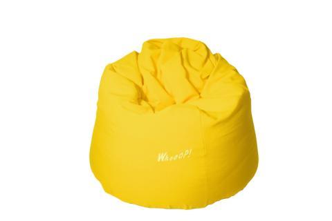 günstiger qualitativer Sitzsack in der Farbe Gelb