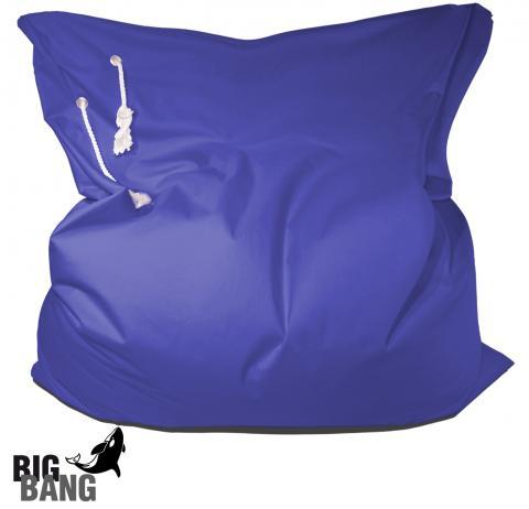Outdoor Sitzsack Big Bang in Blau