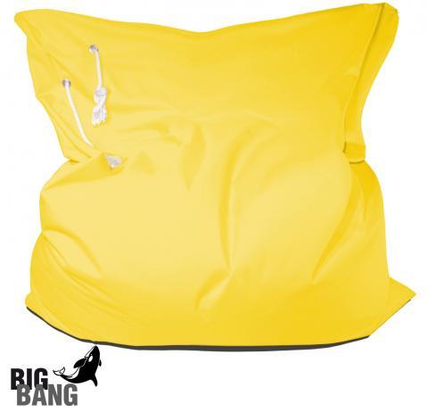 Outdoor Sitzsack Big Bang in Gelb