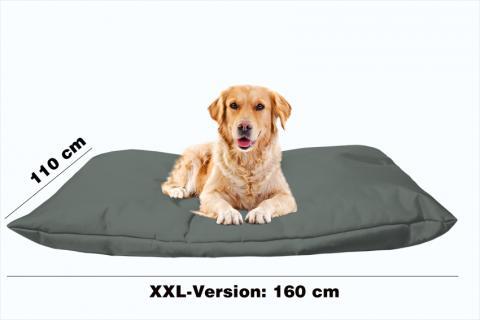 Hundekissen in der Farbe Sand-Grau XXL