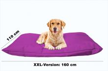 Hundekissen in der Farbe Lila XXL